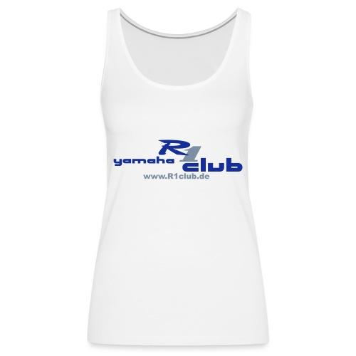 R1club Logo blau - Frauen Premium Tank Top