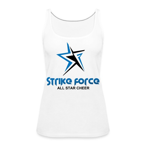 Strike Force Front and Side Logo - Women's Premium Tank Top