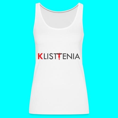 KLALISTENIA - Camiseta de tirantes premium mujer
