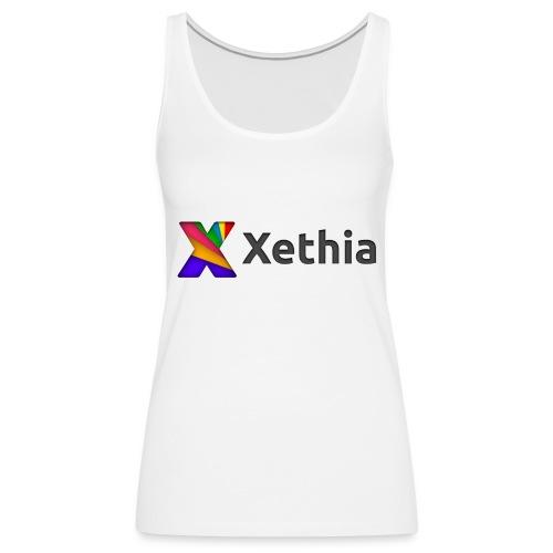 Xethia Logo - Premiumtanktopp dam