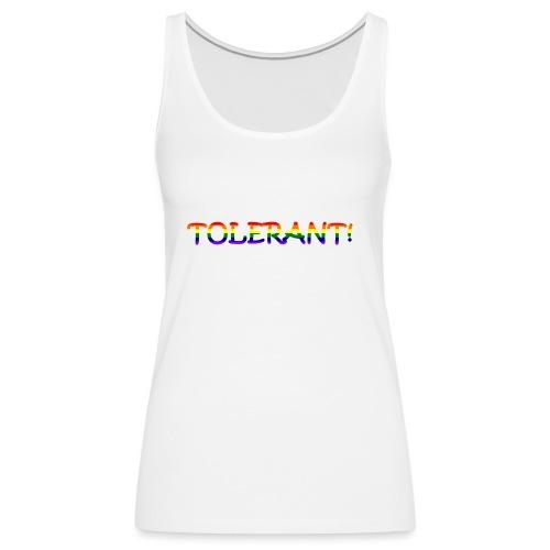 Tolerant Rainbow #1 - Frauen Premium Tank Top