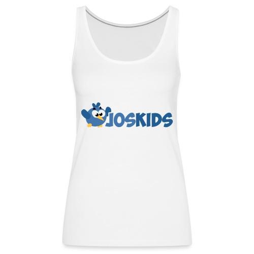 Logo JosKids 3 - Canotta premium da donna
