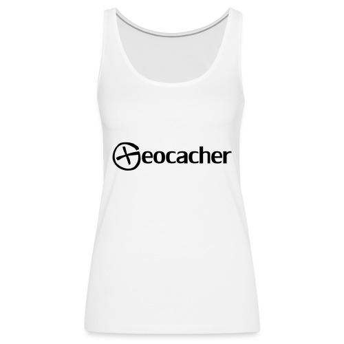 Geocacher - Naisten premium hihaton toppi