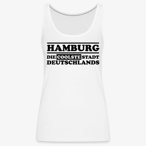 Hamburg Die coolste Stadt Deutschlands B 1c - Frauen Premium Tank Top
