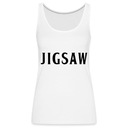JigSaw Black - Women's Premium Tank Top