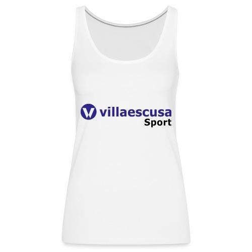 Villaescusa Sport Logo - Camiseta de tirantes premium mujer