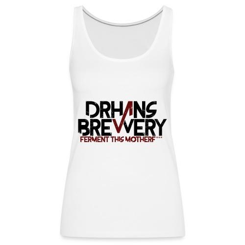 DrHans Brewery Logo - Premiumtanktopp dam