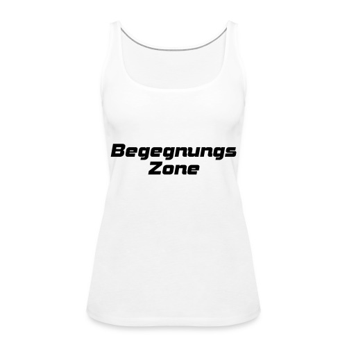 Begegnungszone - Frauen Premium Tank Top