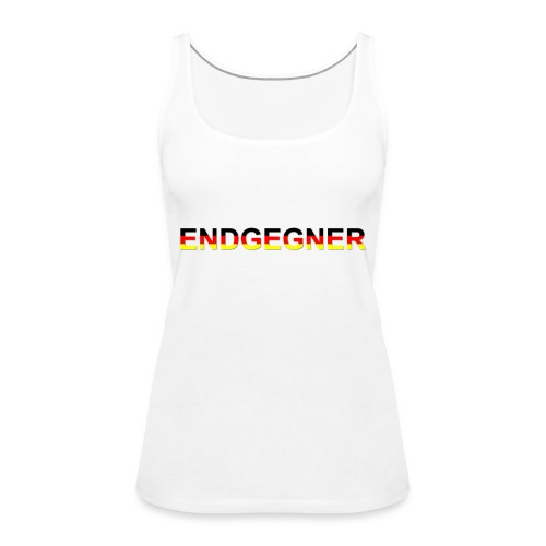ENDGEGNER - Frauen Premium Tank Top