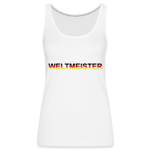 WELTMEISTER - Frauen Premium Tank Top