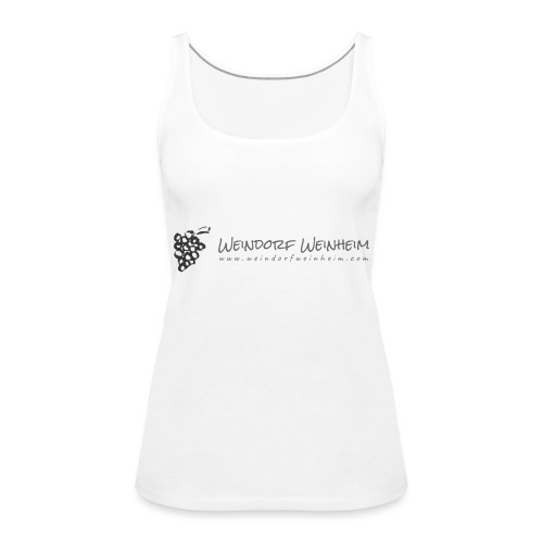 Monochrome on Transparent - Frauen Premium Tank Top