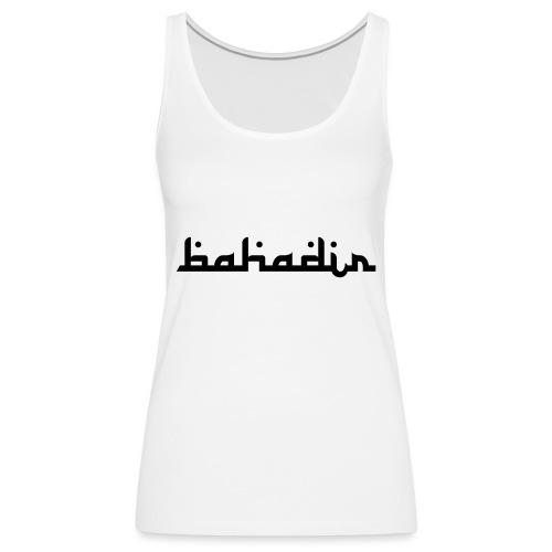 bahadir logo1 png - Frauen Premium Tank Top