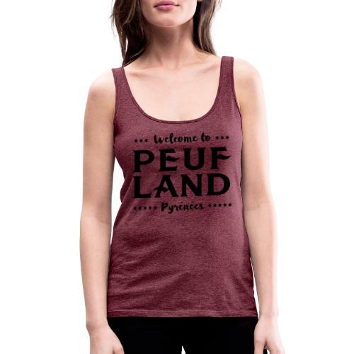 Peuf Land Pyrénées - Black - Débardeur Premium Femme