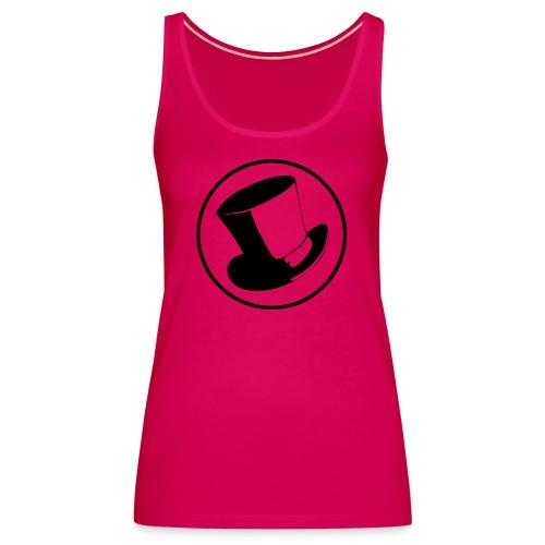 GLASS HAT - Camiseta de tirantes premium mujer