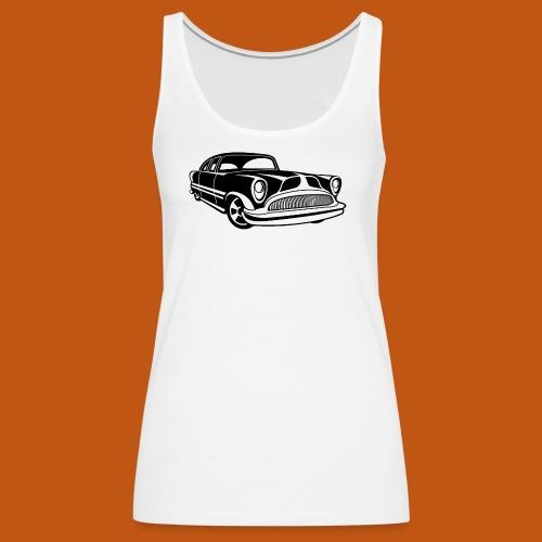 Lowrider / Oldtimer / Muscle Car 03_schwarz - Frauen Premium Tank Top