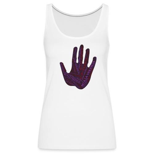 RESPETO A LA MUJER - Camiseta de tirantes premium mujer