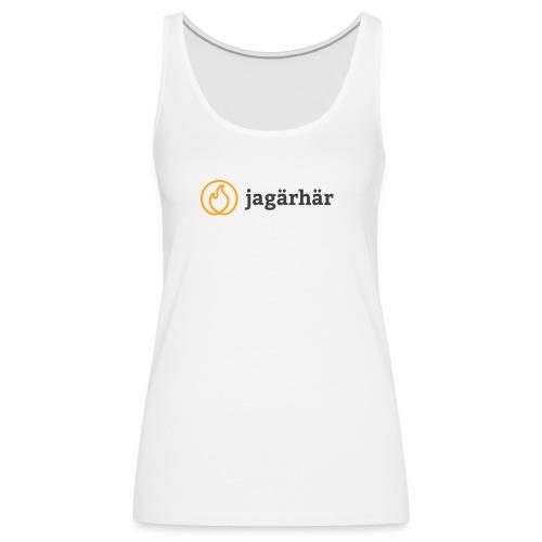 #jagärhär - Premiumtanktopp dam