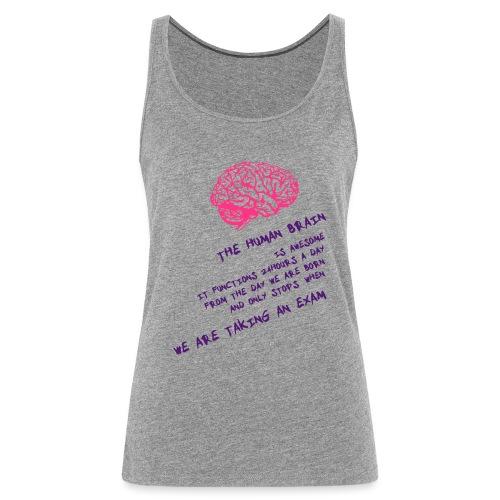 Human Brain - Canotta premium da donna