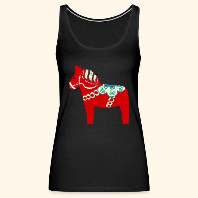 Röd dalahäst