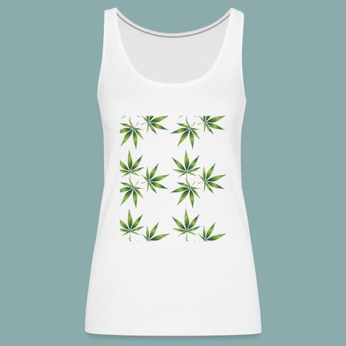 Cannabis - Débardeur Premium Femme