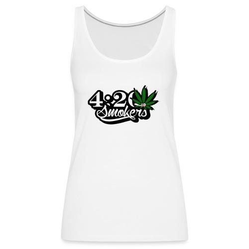 420 smoker - Women's Premium Tank Top