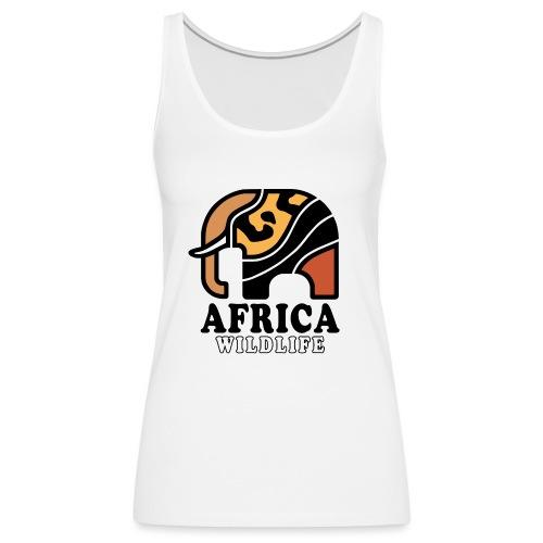 Elefant I AFRICA Wildlife - Frauen Premium Tank Top