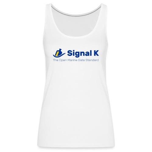 Signal K T-shirt - Women's Premium Tank Top