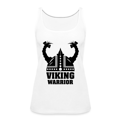 Viking Warrior - Lady Warrior - Naisten premium hihaton toppi