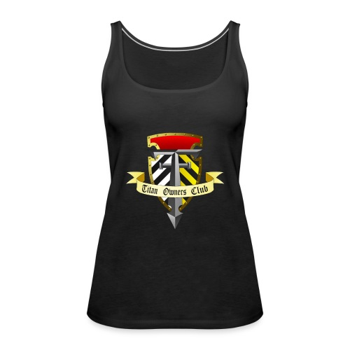 TOC Gothic Clear Background 1 - Women's Premium Tank Top