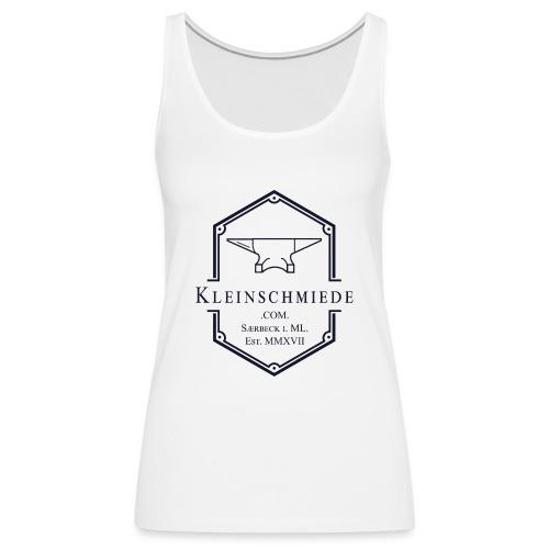 Kleinschmiede Logo 01 3200 3825 sw - Frauen Premium Tank Top