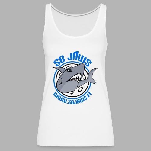 SB JAWS - Naisten premium hihaton toppi