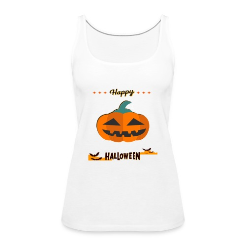 happy halloween - Frauen Premium Tank Top