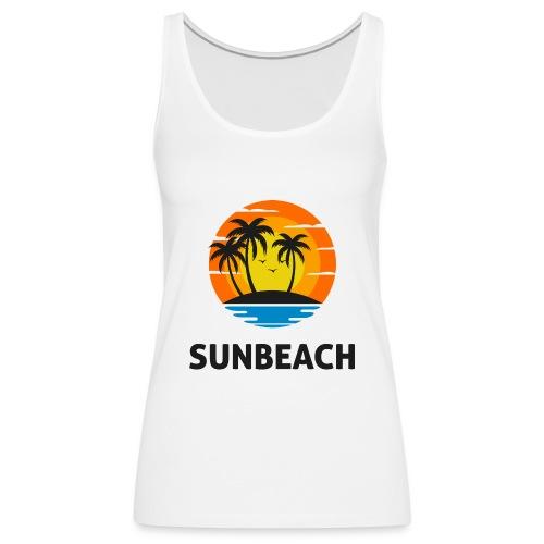 Sun beach valley - Débardeur Premium Femme