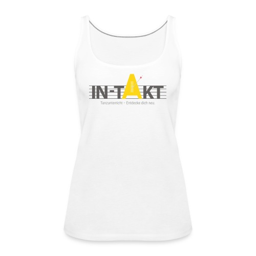 IN-TAKT Tanzunterricht Logo Lovers - Frauen Premium Tank Top