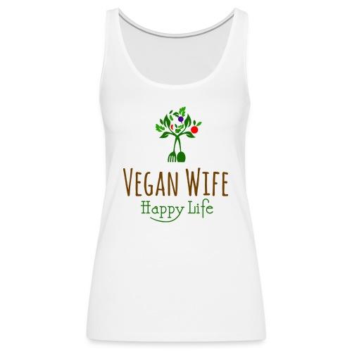 VEGAN WIFE - Débardeur Premium Femme