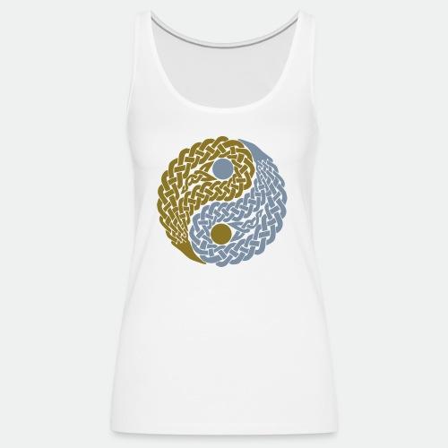 Yin und Yang Keltische Knoten Geschenk Yoga Zen - Women's Premium Tank Top
