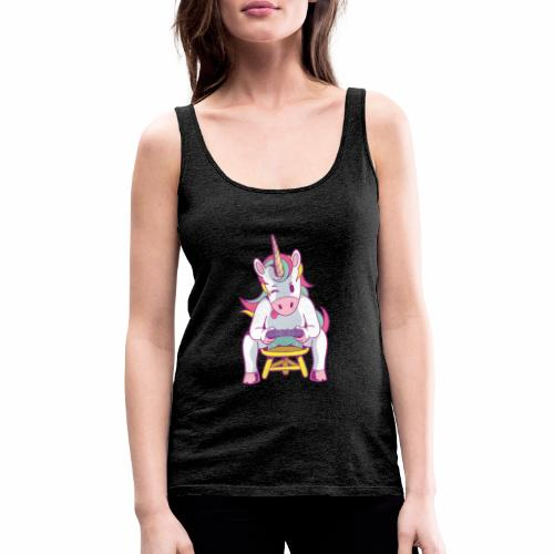gamer unicorn - Frauen Premium Tank Top