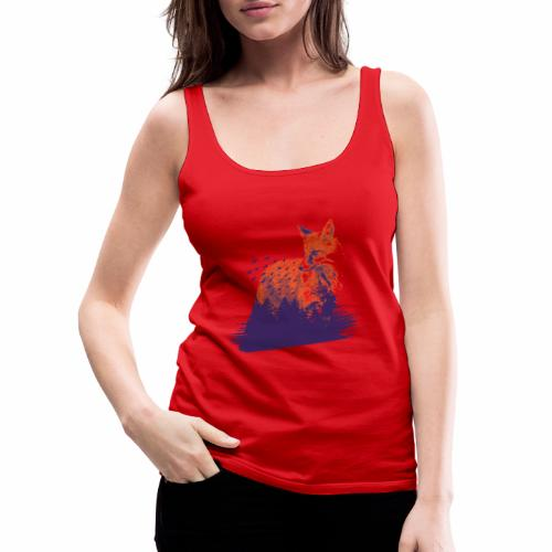Fox forest - Frauen Premium Tank Top
