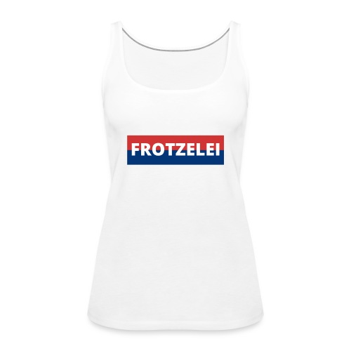 FROTZELEI - Polizeikontrolle Geschenk Autofahrer - Frauen Premium Tank Top