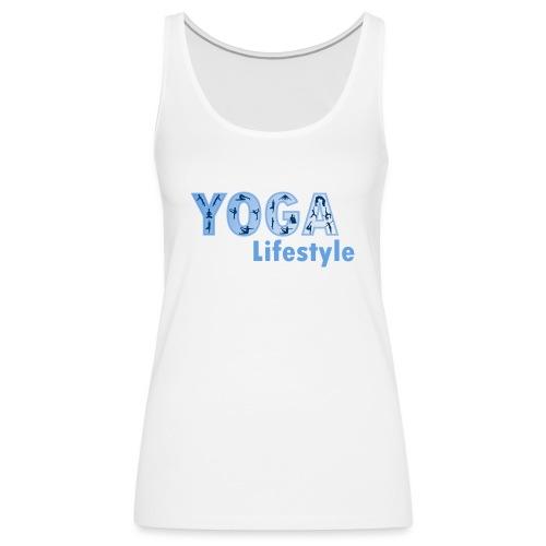 Yoga Life Style - Camiseta de tirantes premium mujer