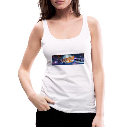 Darknightradio logo - Canotta premium da donna