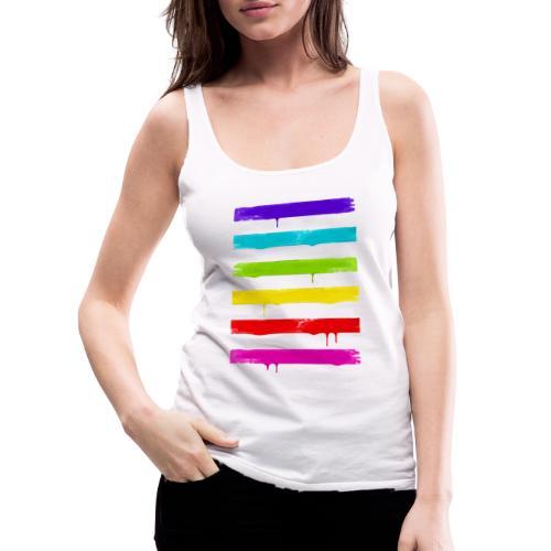 LGBT STRIPES - Frauen Premium Tank Top