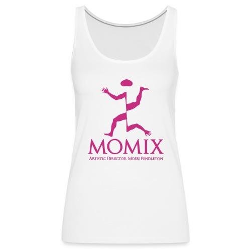 MomixLogo Back - Canotta premium da donna
