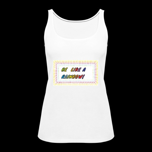 Rainbow Raa Moonshine - Frauen Premium Tank Top