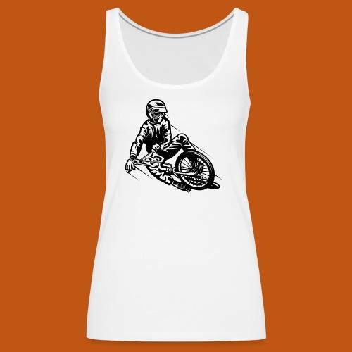 BMX / Mountain Biker 03_schwarz - Frauen Premium Tank Top