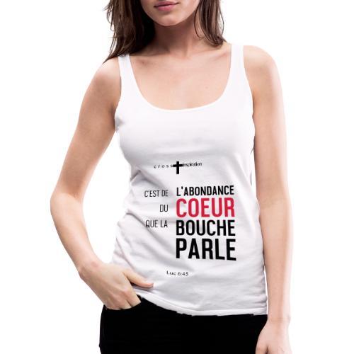 Coeur - Débardeur Premium Femme