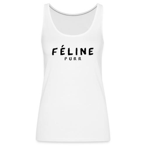 FELINE png - Camiseta de tirantes premium mujer
