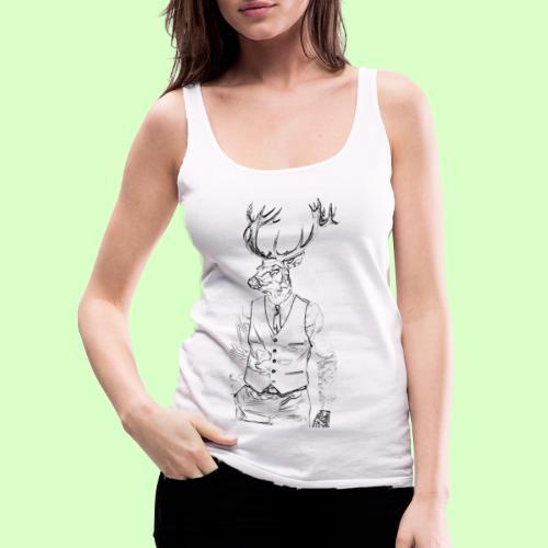 DEER STYLE!! - Camiseta de tirantes premium mujer