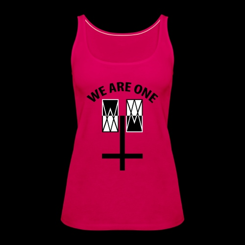 WE ARE ONE x CROSS - Vrouwen Premium tank top