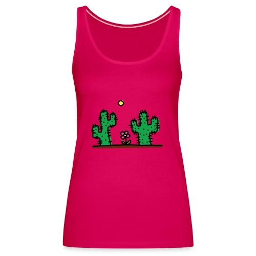 Cactus - Canotta premium da donna